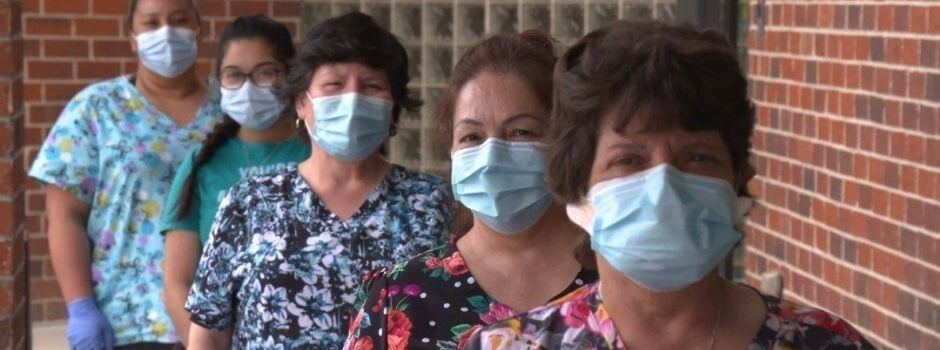 InnovAge Employees In Masks