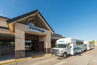 InnovAge PACE center and bus for seniors