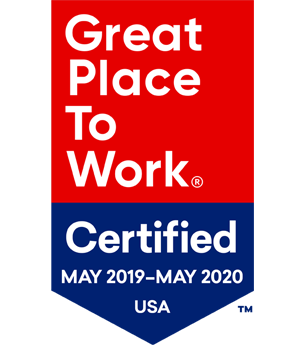 Great Place to Work logo 2019 - 2020