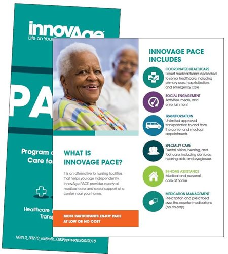 General InnovAge PACE brochure design