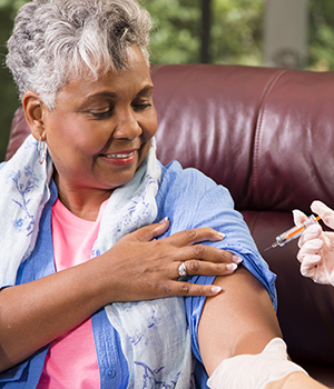 older adult flu shot
