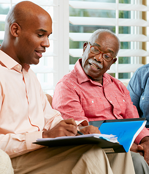 caregivers and older adults discussion