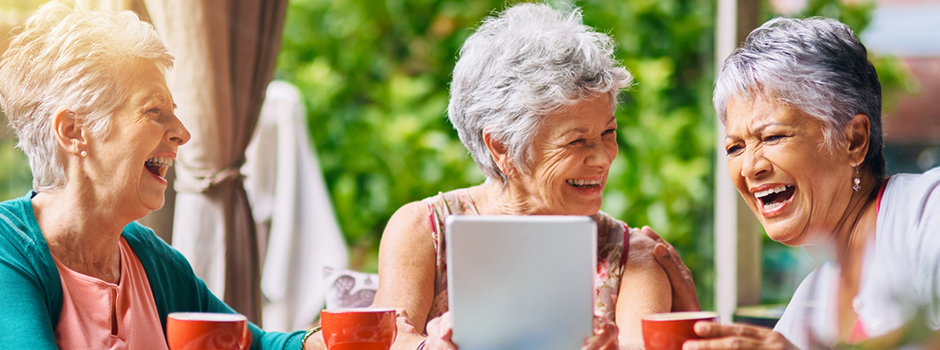 older adults with iPad